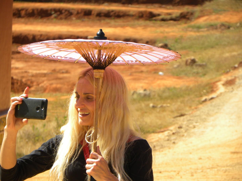 La dame à l'ombrelle