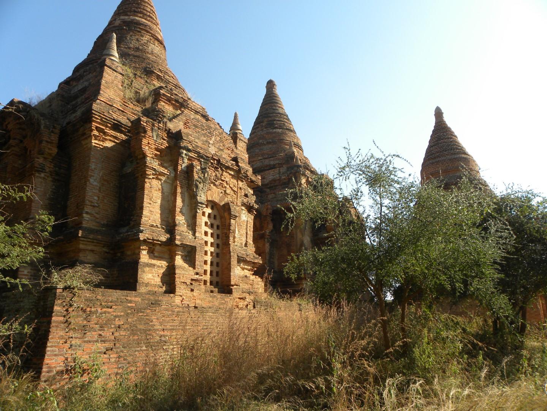 Pagodes à Bagan