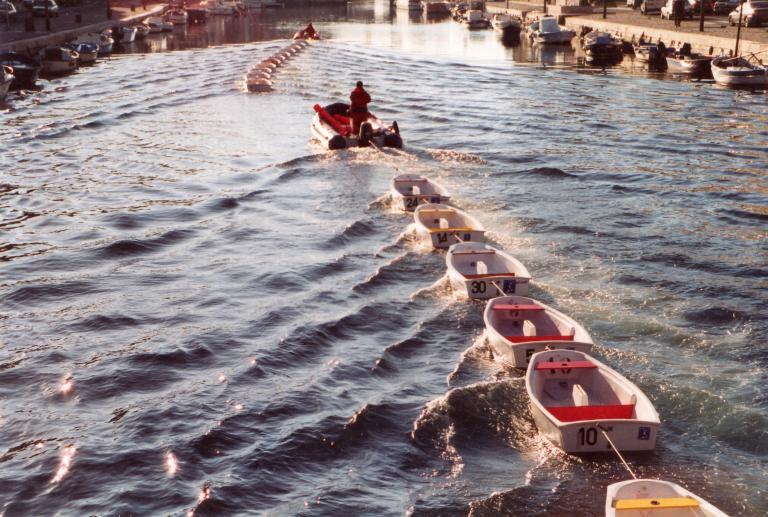 86 petits bateaux deviendront
