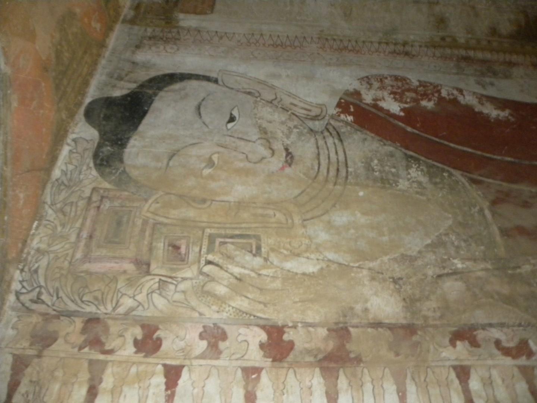 Fresques à Bagan