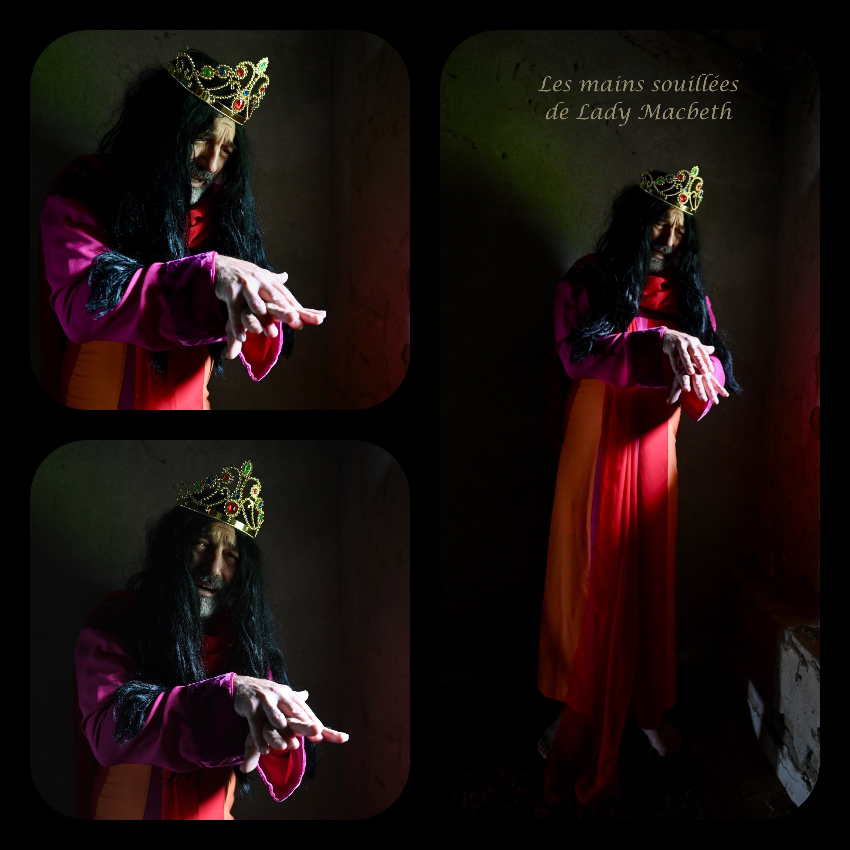 Les mains souille es de lady macbeth