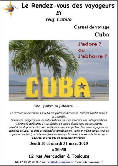 Capture affichette cuba