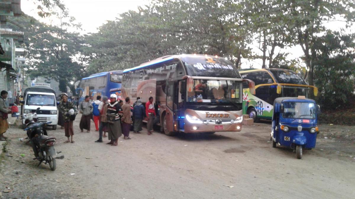 Gare des bus nagpali